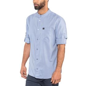 Jack Wolfskin Indian Springs Miehet Pitkähihainen paita , sininen
